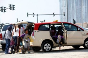 Transportation  33-300x200 RTA: all Dubai taxi passengers are in safe hands
