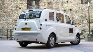 Business and jobs Featured  11-300x168 London mayor Boris Johnson checks out Electric Metrocab EV taxi