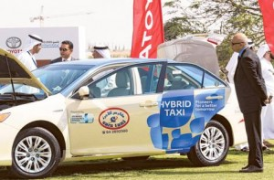 Featured Technology  12-300x197 More hybrids join Dubai's taxi fleet