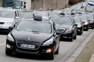 Business and jobs Featured  14-300x200 Violent French taxi protests against Uber