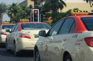 Transportation  2a1-300x199 Dubai taxi drivers cut a poor image in poll