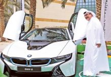 Image Credit: Gulf News Archives An electric vehicle charging station. Dubai has already flipped the switch on 100 electric-car charging stations.