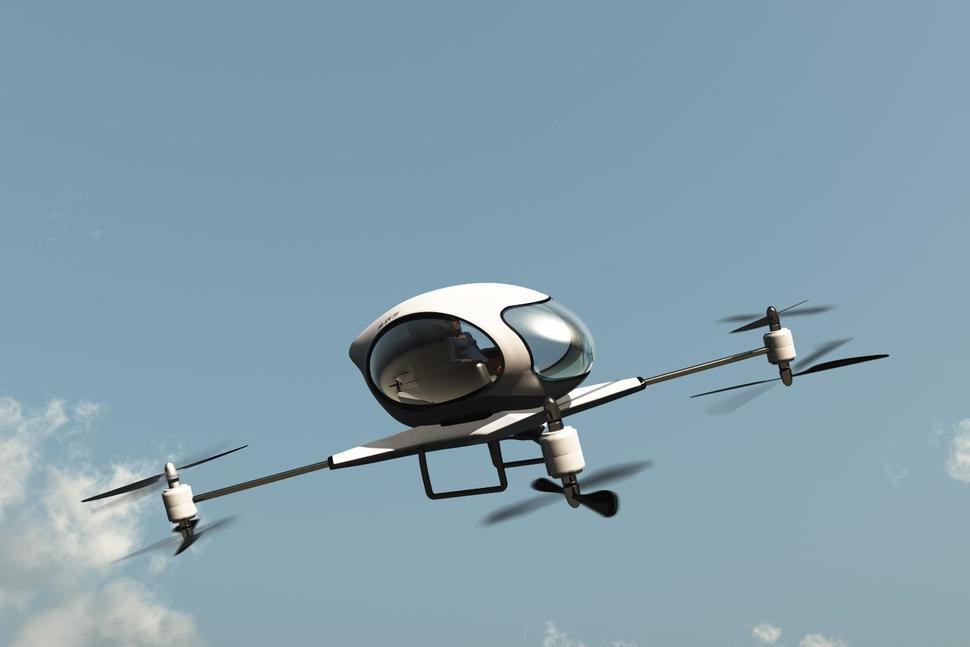Self Driving Drone Taxis