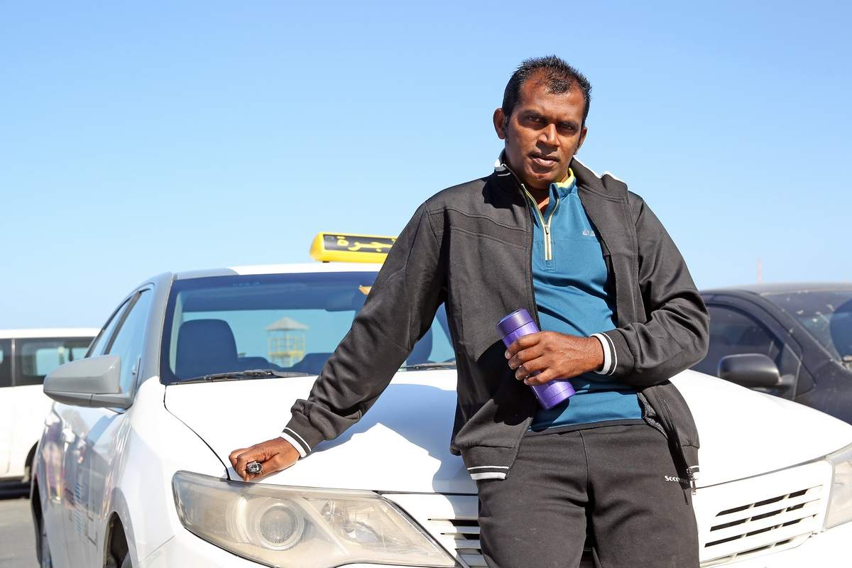 How an international hero became a taxi driver in UAE Suresh