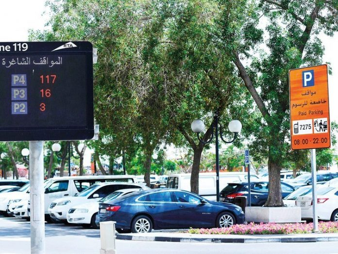 RTA introduces smart system to detect vacant parking spaces at Deira and World Trade Centre