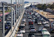 UAE police issue speed limit warning for motorists